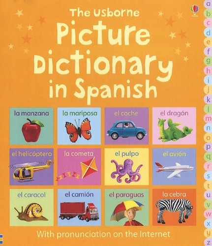 9780794516086: The Usborne Picture Dictionary in Spanish (Picture Dictionaries)