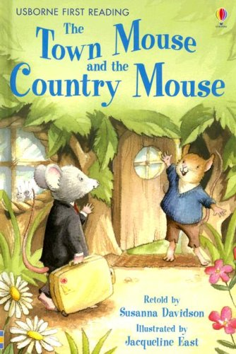 9780794516130: The Town Mouse and the Country Mouse (Usborne First Reading Level 4)