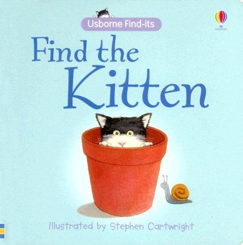 9780794518035: Find the Kitten (Find-Its Board Books)