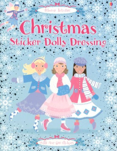 Christmas Sticker Dolly Dressing (Usborne Activities): Clarke, Catriona; Pratt, Leonie