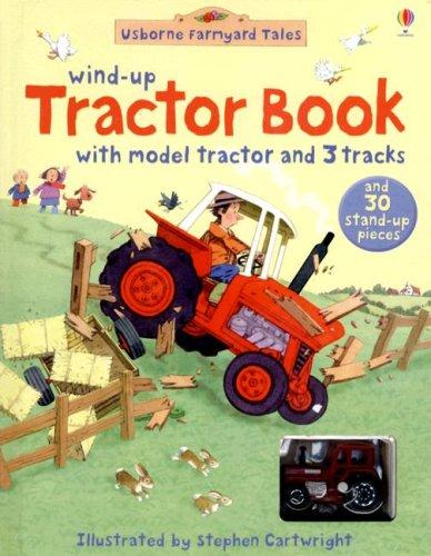 9780794518615: Wind-Up Tractor Book (Usborne Farmyard Tales)