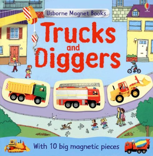 9780794519070: Trucks and Diggers (Magnet Books)
