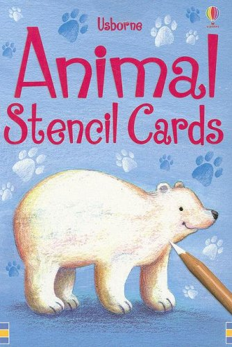 9780794519612: Animal Stencil Cards