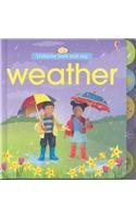 9780794519896: Weather (Usborne Look and Say)