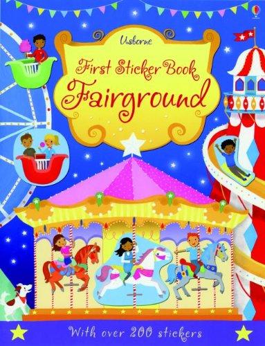 First Sticker Book Fairground: Taplin, Sam