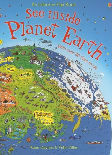9780794520700: See Inside Planet Earth (Usborne Flap Book)