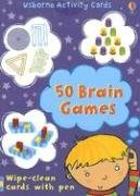 9780794520755: 50 Brain Games [With Wipe-Clean Cards and Pen] (Activity Cards)