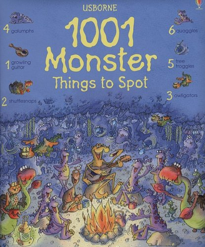 9780794520915: 1001 Monster Things to Spot (1001 Things to Spot)