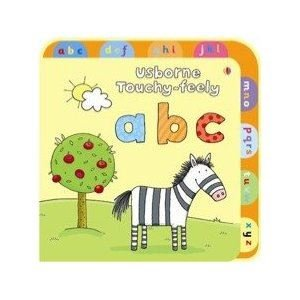 Usborne Touchy-Feely ABC (Usborne Touchy-Feely Books): Watt, Fiona