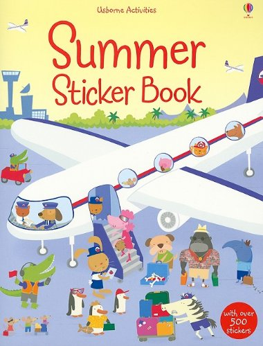 9780794521035: Summer Sticker Book [With 500+ Stickers]