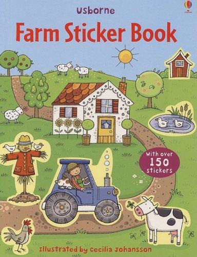 9780794521103: Farm Sticker Book (Sticker Books)