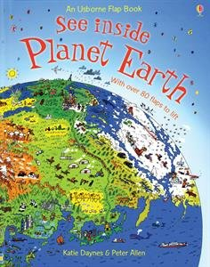 9780794522049: See Inside Planet Earth (An Usborne Flip Book)