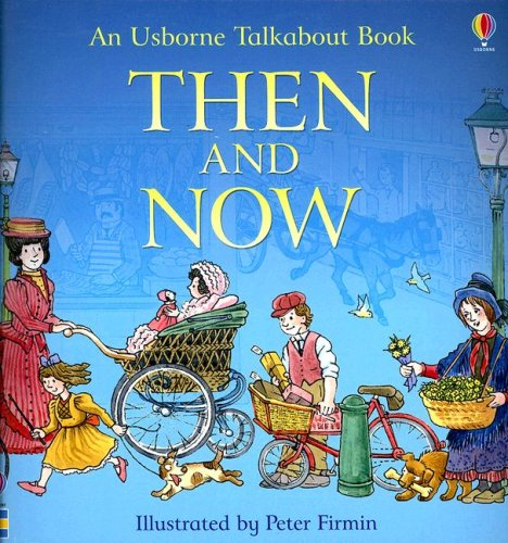 9780794522117: Then and Now (Usborne Talkabout Books)