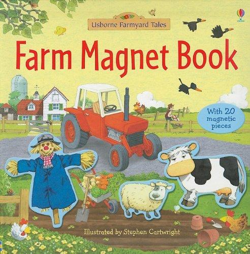 Farm Magnet Book (Farmyard Tales): Brooks, Felicity