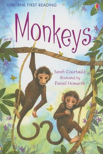 9780794522902: Monkeys (Usborne First Reading Level 3)