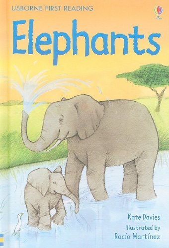9780794522919: Elephants (Usborne First Reading: Level 4)