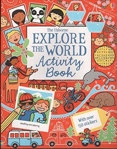 9780794523244: Explore the World Activity Book (Was Travel ACT Bk) (Doodle Books (Usborne Books))