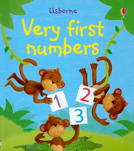 9780794523541: Very First Numbers (Usborne First Words Board Books)