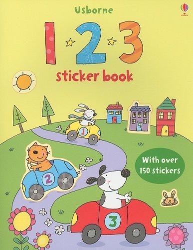 9780794523619: 123 Sticker Book [With Over 150 Stickers] (Sticker Books)