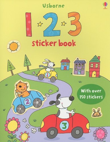 9780794523619: 123 Sticker Book (Sticker Books)