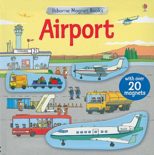 9780794523633: Airport [With Magnet(s)] (Usborne Magnet Books)
