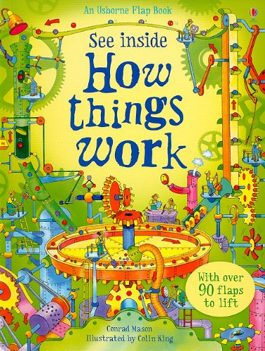 9780794524067: See Inside How Things Work (Usborne Flap Book)