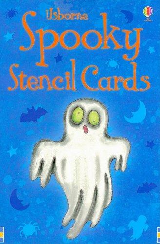 9780794524159: Spooky Stencil Cards