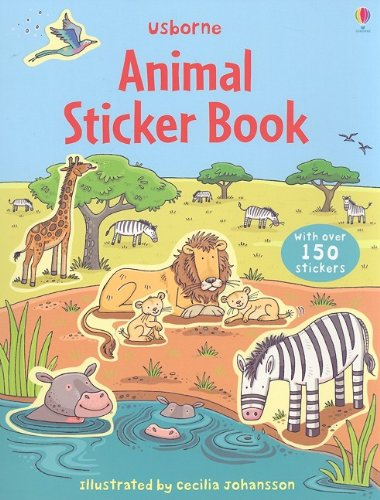 9780794524753: Animal Sticker Book (Sticker Books)