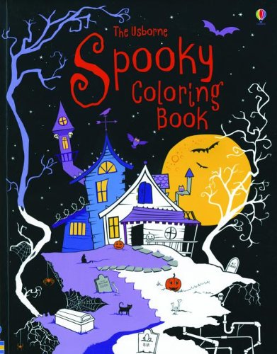 9780794525460: The Usborne Spooky Coloring Book