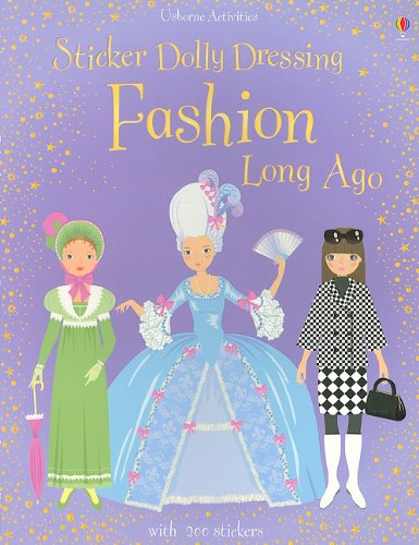 Sticker Dolly Dressing Fashion Long Ago: Lucy Bowman, Louie