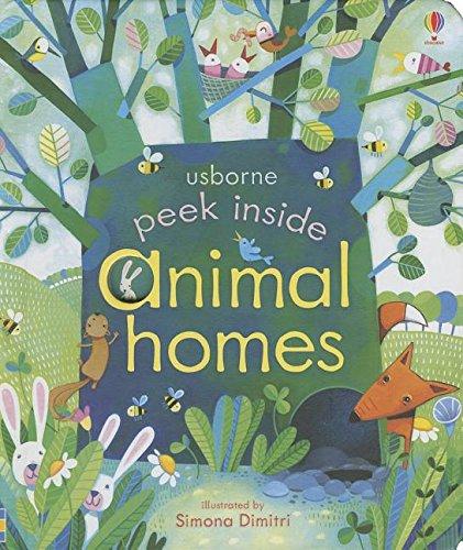 9780794525491: Peek Inside Animal Homes (Peek Inside Board Books)