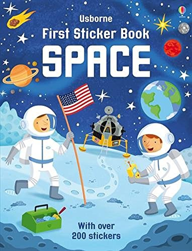 Space (Usborne First Sticker Book): USBORNE