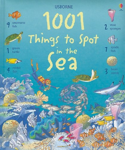 9780794526153: 1001 Things to Spot in the Sea (Usborne 1001 Things to Spot)