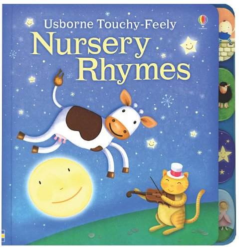 9780794526627: Nursery Rhymes Touchy-Feely Board Book (Luxury Touchy-Feely Board Books)