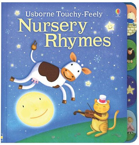 9780794526627: Usborne Touchy-Feely Nursery Rhymes (Luxury Touchy-Feely Board Books)
