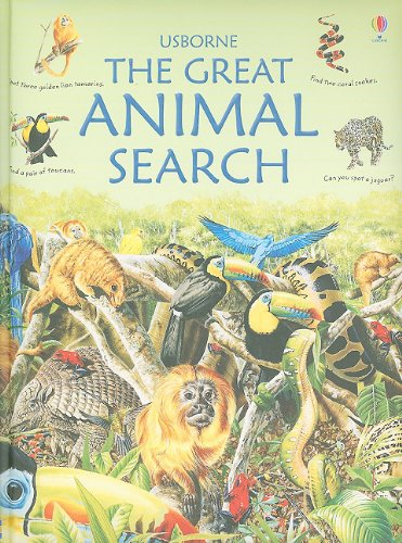 9780794526924: Great Animal Search (Great Searches)