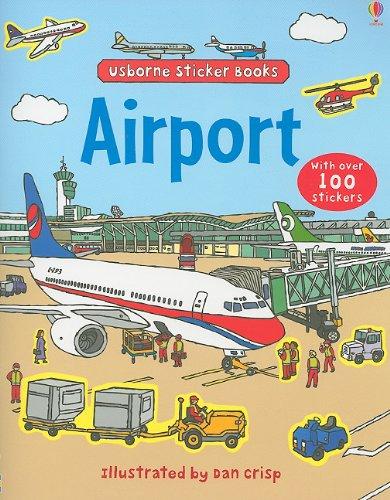 9780794526931: Airport (Usborne Sticker Books)