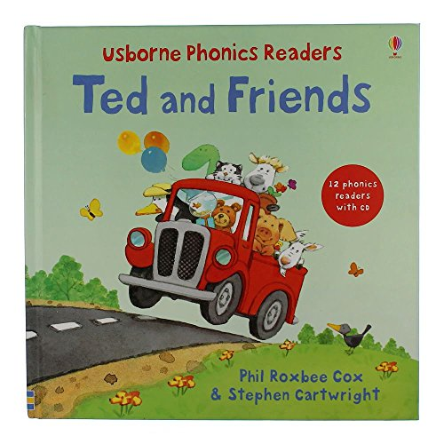 Usborne Phonics Readers Ted and Friends (0794527019) by Usborne