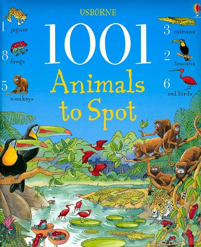 9780794527044: 1001 Animals to Spot (Usborne 1001 Things to Spot)