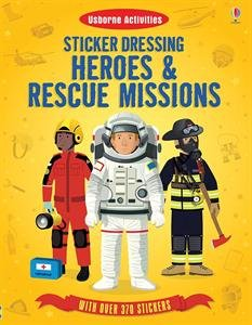 Sticker Dressing Heroes & Rescue Missions: Cullis, Megan, Gillespie, Lisa Jane