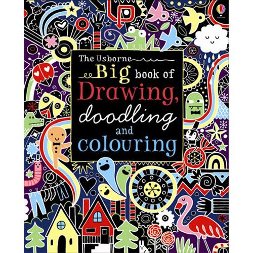 9780794527365: Big Book of Drawing, Doodling and Coloring (Doodle Books (Usborne Books))