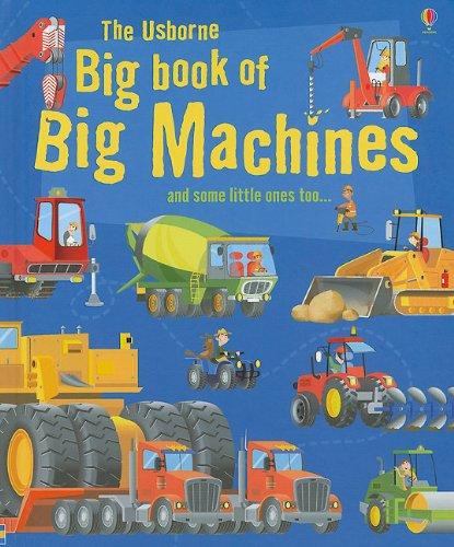 9780794527648: The Usborne Big Book of Big Machines (Big Book of Machines)