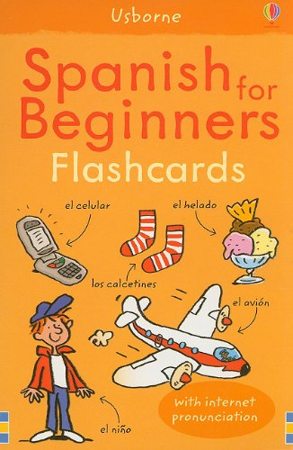 9780794527679: Spanish for Beginners Flashcards: With Internet Pronunciation (Language Guides)
