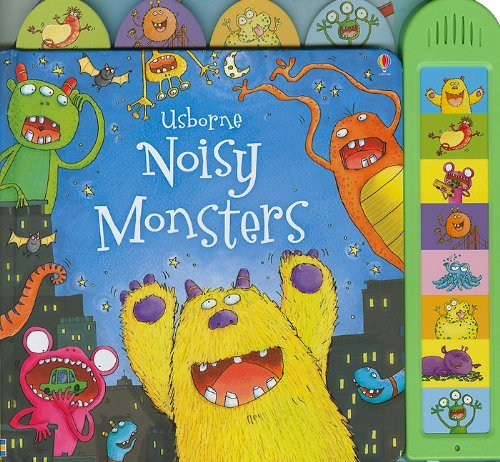 9780794527693: Noisy Monsters (Busy Sounds Board Book)