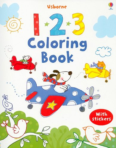123 Coloring Book: Stacey Lamb (Illustrator)