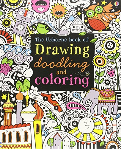 9780794527884: The Usborne Book of Drawing, Doodling and Coloring