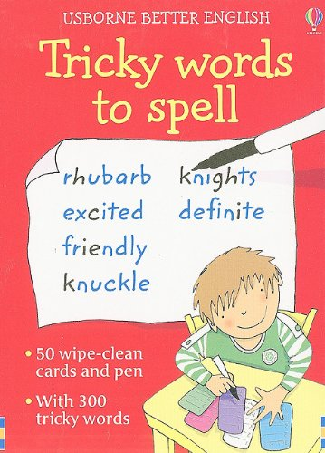 9780794528072: Tricky Words to Spell (Usborne Better English)