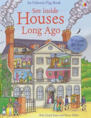 9780794528157: See Inside Houses Long Ago (See Inside Board Books)