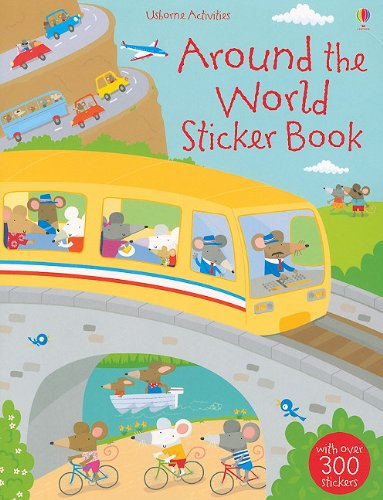 9780794528317: Around the World Sticker Book (Usborne Activities)