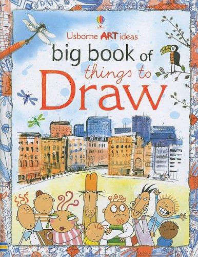 9780794528423: Usborne Art Ideas Big Book of Things to Draw